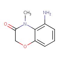 5-amino-4-methyl-2H-benzo[b][1,4]oxazin-3(4H)-one