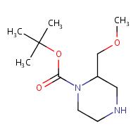 tert-butyl 2-(methoxymethyl)piperazine-1-carboxylate