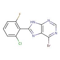 6-bromo-8-(2-chloro-6-fluorophenyl)-9H-purine