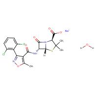Dicloxacillin sodium monohydrate