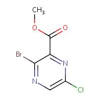 methyl 3-bromo-6-chloropyrazine-2-carboxylate