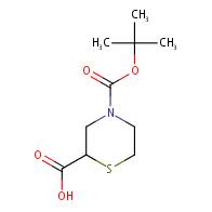 4-(tert-Butoxycarbonyl)thiomorpholine-2-carboxylic acid