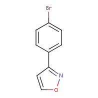 3-(4-bromophenyl)isoxazole