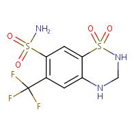 Hydroflumethiazide
