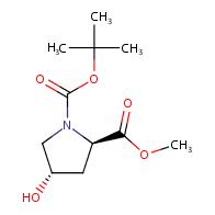 1-O-tert-butyl 2-O-methyl (2R,4S)-4-hydroxypyrrolidine-1,2-dicarboxylate
