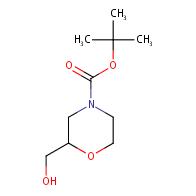 tert-butyl 2-(hydroxymethyl)morpholine-4-carboxylate