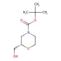 tert-butyl (2S)-2-(hydroxymethyl)morpholine-4-carboxylate