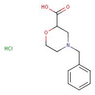 4-benzylmorpholine-2-carboxylic acid hydrochloride