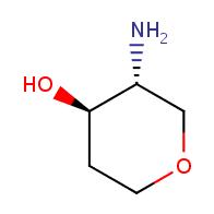 (3R,4R)-3-aminooxan-4-ol