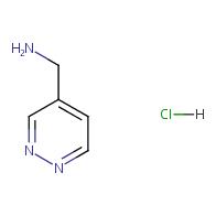 4-Pyridazinemethanamine hydrochloride