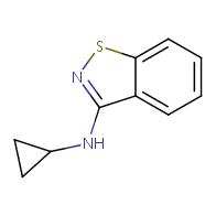 N-cyclopropylbenzo[d]isothiazol-3-amine