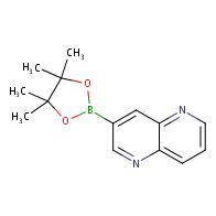 3-(4,4,5,5-tetramethyl-1,3,2-dioxaborolan-2-yl)-1,5-naphthyridine
