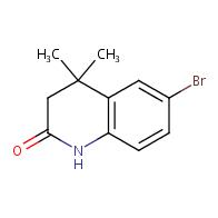 6-Bromo-3,4-dihydro-4,4-dimethylquinolin-2(1H)-one