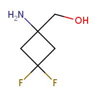 (1-Amino-3,3-difluorocyclobutyl)methanol