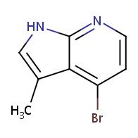 4-bromo-3-methyl-1H-pyrrolo[2,3-b]pyridine
