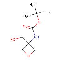 tert-butyl N-[3-(hydroxymethyl)oxetan-3-yl]carbamate