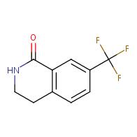 7-(trifluoromethyl)-1,2,3,4-tetrahydroisoquinolin-1-one