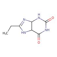 8-Ethyl-3,4,5,7-tetrahydro-1H-purine-2,6-dione