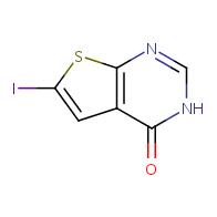 6-iodothieno[2,3-d]pyrimidin-4(3H)-one