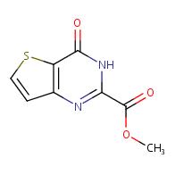 Methyl 4-oxo-3,4-dihydrothieno[3,2-d]pyrimidine-2-carboxylate
