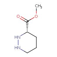 methyl (S)-hexahydropyridazine-3-carboxylate