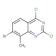 7-bromo-2,4-dichloro-8-methylquinazoline