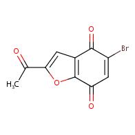 2-acetyl-5-bromo-4,7-dihydro-1-benzofuran-4,7-dione