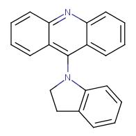 9-(Indolin-1-yl)acridine