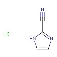 1H-imidazole-2-carbonitrile hydrochloride
