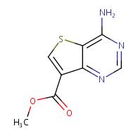 Methyl 4-amino-thieno[3,2-d]pyrimidine-7-carboxylate