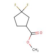 methyl 3,3-difluorocyclopentane-1-carboxylate
