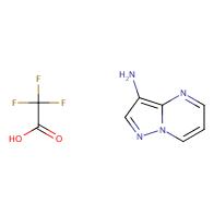 pyrazolo[1,5-a]pyrimidin-3-amine trifluoroacetic acid