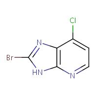 2-bromo-7-chloro-3H-imidazo[4,5-b]pyridine