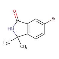 6-bromo-3,3-dimethyl-2,3-dihydro-1H-isoindol-1-one