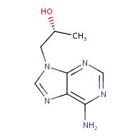 (R)-9-(2-Hydroxypropyl)adenine