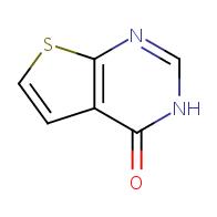 3H-Thieno[2,3-d]pyrimidine-4-one