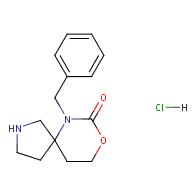 6-benzyl-8-oxa-2,6-diazaspiro[4.5]decan-7-one hydrochloride