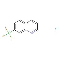 potassium trifluoro(quinolin-7-yl)borate