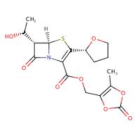 (5-methyl-2-oxo-1,3-dioxol-4-yl)methyl (5R,6S)-6-((R)-1-hydroxyethyl)-7-oxo-3-((R)-tetrahydrofuran-2-yl)-4-thia-1-azabicyclo[3.2.0]hept-2-ene-2-carboxylate