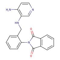 2-{2-[(4-AMino-pyridin-3-ylaMino)-Methyl]-phenyl}-isoindole-1,3-dione