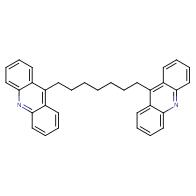 9-(7-acridin-9-ylheptyl)acridine
