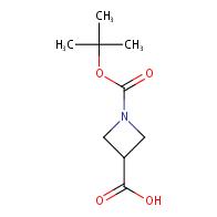 1-[(tert-butoxy)carbonyl]azetidine-3-carboxylic acid