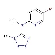 5-bromo-N-methyl-N-(1-methyl-1H-1,2,3,4-tetrazol-5-yl)pyridin-2-amine