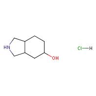 octahydro-1H-isoindol-5-ol hydrochloride