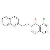 8-Chloro-2-(2-(quinolin-2-yl)ethyl)phthalazin-1(2H)-one