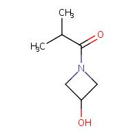 1-(3-Hydroxy-1-azetidinyl)-2-Methyl-1-propanone