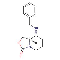 cis-8-(benzylamino)hexahydro-oxazolo[3,4-a]pyridin-3-one