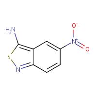 5-nitrobenzo[c]isothiazol-3-amine