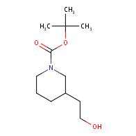 1-Piperidinecarboxylicacid, 3-(2-hydroxyethyl)-, 1,1-dimethylethyl ester