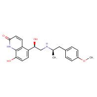 2(1h)-quinolinone, 8-hydroxy-5-[(1r)-1-hydroxy-2-[[(1r)-2-(4-methoxyphenyl)-1-methylethyl]amino]ethyl]-